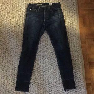 AG Farrah High Rise Skinny Crop Jeans